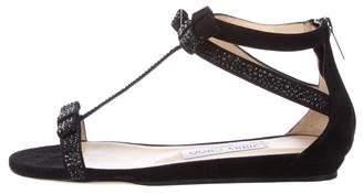 Jimmy Choo Embellished Thong Sandals