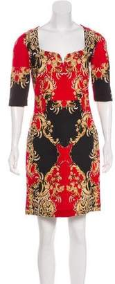 Just Cavalli Sheath Mini Dress