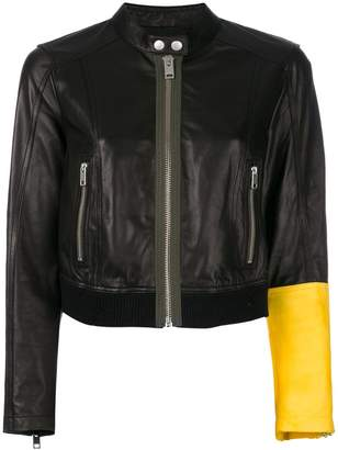 Diesel L-Lyssa leather jacket