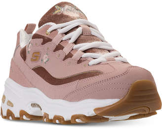 Skechers Women's D'Lites - Rose Blooms Walking Sneakers from Finish Line