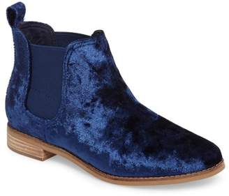 Toms Ella Leather Ankle Bootie