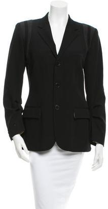 Jean Paul Gaultier Wool Blazer $140 thestylecure.com