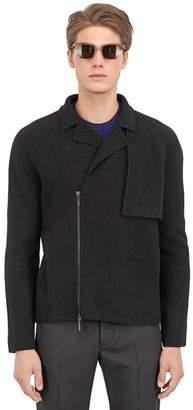 Vasily Razdorskiy Boiled Wool Biker Jacket