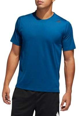 adidas FreeLift Sport Fitted Three-Stripes Tee