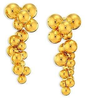 Marina B 18K Yellow Gold Atomo Grape Drop Earrings