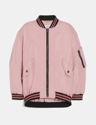 Coach Nylon Ma-1 Jacket