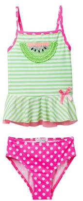 Flapdoodles Watermelon 2-Piece Swimsuit (Toddler Girls)