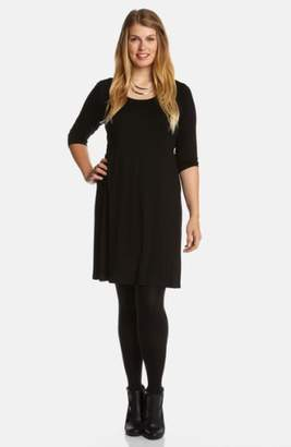 Karen Kane Scoop Neck Jersey Dress