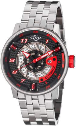 Gv2 48mm Men's Motorcycle Sport Automatic Bracelet Watch