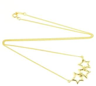 Tiffany & Co. 18K Yellow Gold Star Pendant Necklace