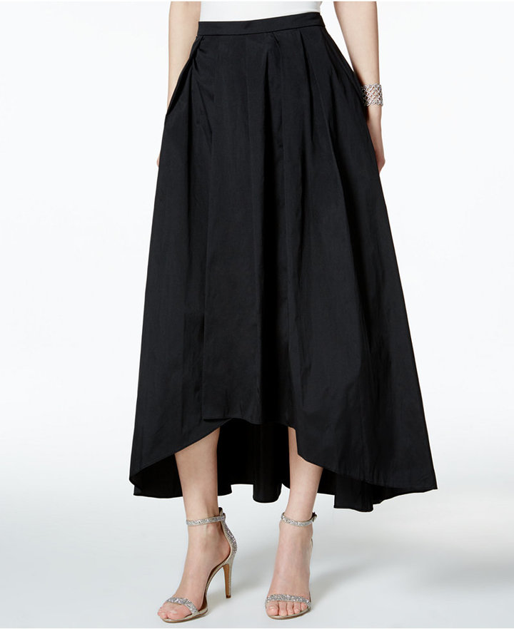 Alex Evenings Alex Evenings A-Line High-Low Skirt