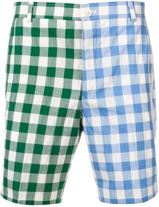 Thom Browne Gingham Fun-Mix Short