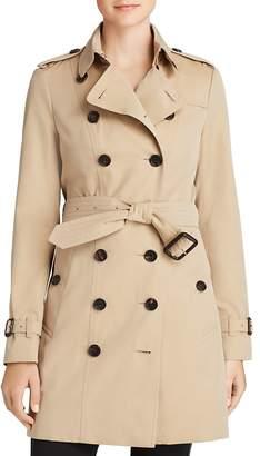 Burberry Heritage Sandringham Mid-Length Trench Coat
