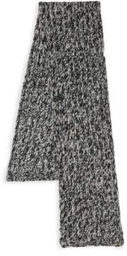Valentino Knitted Wool & Silk Scarf