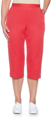 Alfred Dunner Americas Cup High Rise Capris