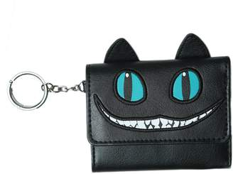 Disney Alice in Wonderland Through the Looking Glass Cheshire Cat Trifold Wallet