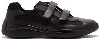 Prada America's Cup Velcro-strap trainers