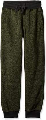 Southpole Big Boys' Jogger Fleece Pants in Marled Colors
