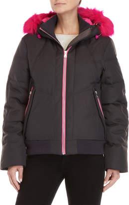 Pajar Canada Beatrix Pop Faux Fur-Trimmed Jacket