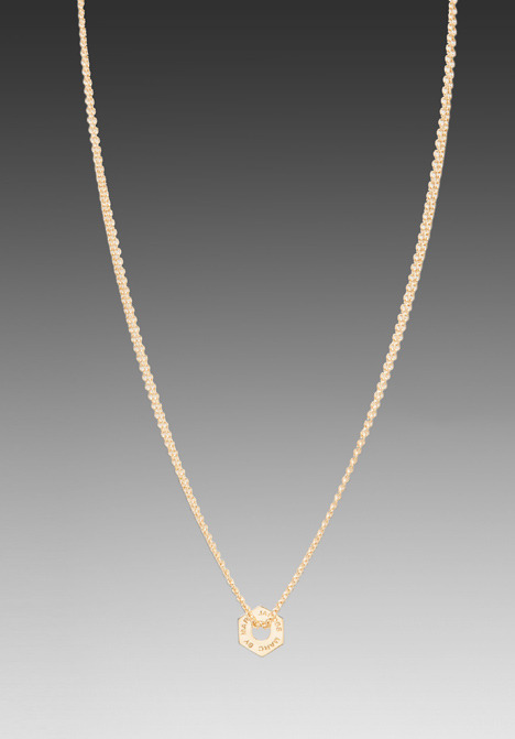 Marc by Marc Jacobs Tiny Bolt Necklace