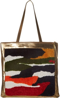 Rachel Comey Embroidered Sleeve Tote $483 thestylecure.com