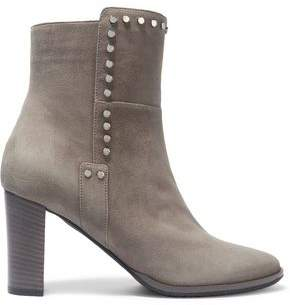 Jimmy Choo Studded Suede Ankle Boots