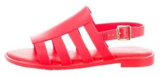 Melissa Rubber Ankle Strap Sandals