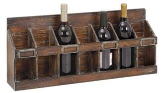 Cole & Grey 7 Bottle Tabletop Wine Rack