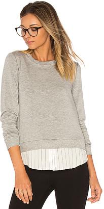 Bailey 44 Soft Shackel Sweatshirt in Gray $168 thestylecure.com