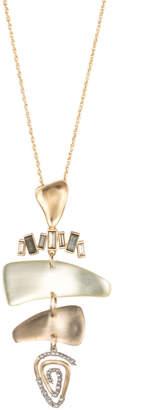 Alexis Bittar Color Block Mobile Pendant Necklace