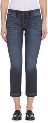 Vigoss Women's Straight Chelsea Crop Jean