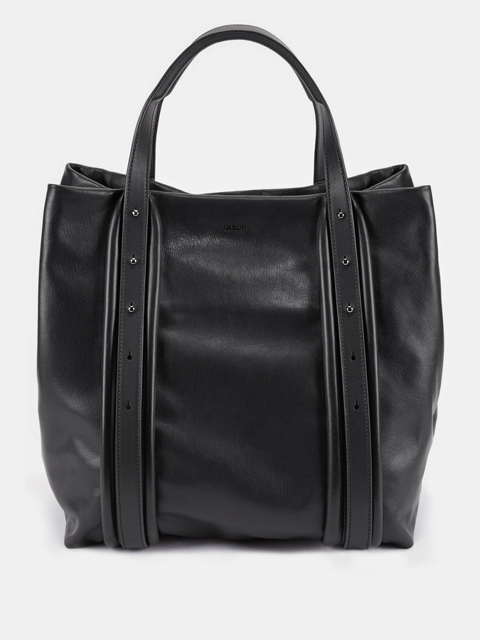 DKNYSoft Leather Convertible Tote