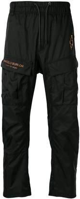 Marcelo Burlon County of Milan Fire Cross track trousers