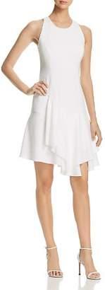 Elie Tahari Lalana Asymmetric-Ruffle Dress