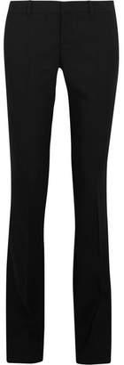 Gucci Stretch-wool Bootcut Pants - Black