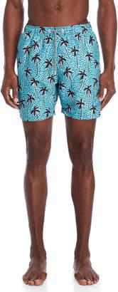 Trunks Boardies Aqua Flair Palm Swim