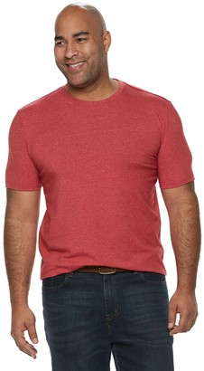 Sonoma Goods For Life Big & Tall SONOMA Goods for Life Supersoft Regular-Fit Crewneck Tee