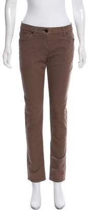 Brunello Cucinelli Mid-Rise Skinny Jeans w/ Tags