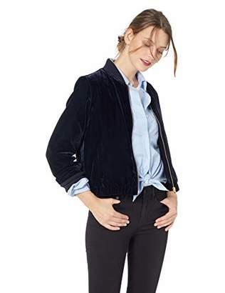 J.Crew Mercantile Women's Velvet Bomber Jacket