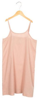 Stella McCartney Girls' Sleeveless Scoop Neck Dress $45 thestylecure.com