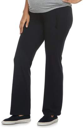 A Glow Maternity a:glow Mid Belly Panel Lounge Pants