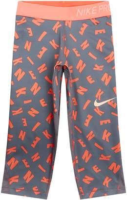 Nike Logo Print Leggings
