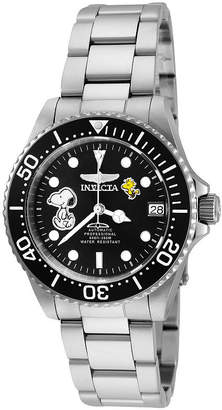 Invicta Character Collection Snoopy Womens Silver Tone Bracelet Watch-24793
