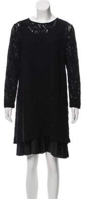 Fuzzi Lace Layered Dress w/ Tags