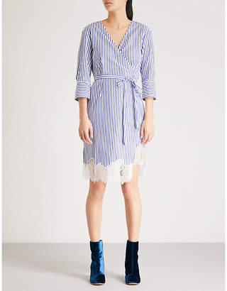 Mo&Co. Striped cotton dress