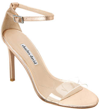 Charles David Cristal Leather Sandal