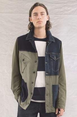 French Connenction Field Patchwork Jacket