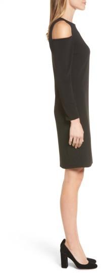 Women's Halogen Knit Cold Shoulder Dress 3