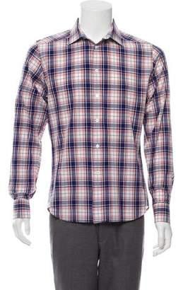 Paul & Joe Plaid Dress Shirt