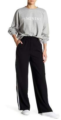 Romeo & Juliet Couture Wide Leg Side Stripe Trousers